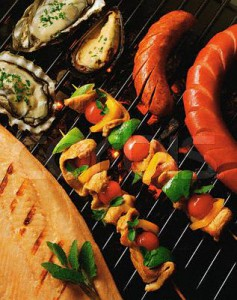 Grilled Seafood and Meats